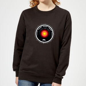 2001: A Space Odyssey Hal 9000 Stylised Eye Women's Sweatshirt - Black