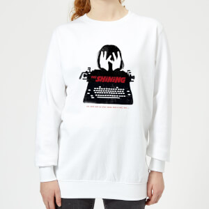 The Shining Silhouette Women's Sweatshirt - White