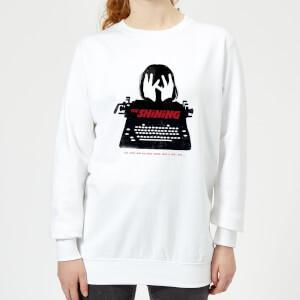 The Shining Silhouette Women's Sweatshirt - White
