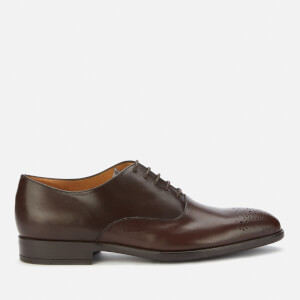 PS Paul Smith Men's Guy Leather Oxford Shoes - Dark Brown