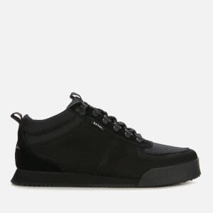 PS Paul Smith Men's Harlan Hiking Style Trainers - Black
