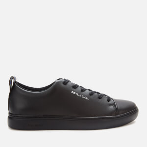 PS Paul Smith Men's Lee Leather Cupsole Trainers - Black