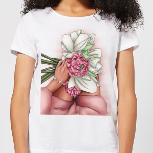 Flowers Women's T-Shirt - White