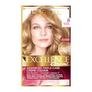 L'Oréal Paris Excellence Crème Permanent Hair Dye (Various Shades)