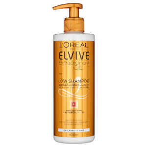 L'Oréal Paris Elvive Extraordinary Oil Low Shampoo for Dry Hair 400ml