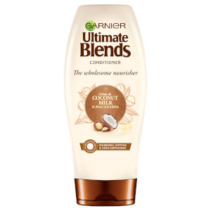 Garnier Ultimate Blends Coconut Milk Dry Hair Conditioner 360ml