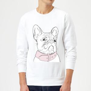 Frenchie Sweatshirt - White