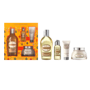 LOccitane Holiday Almond Home and Away Set (Worth $52)