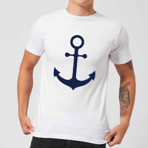 Candlelight Anchor Men's T-Shirt - White