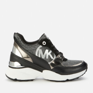 MICHAEL MICHAEL KORS Women's Mickey Chunky Running Style Trainers - Sterling