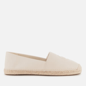 MICHAEL MICHAEL KORS Women's Dylyn Leather Espadrilles - Light Cream