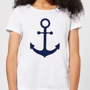 Candlelight Anchor Women's T-Shirt - White