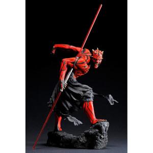 Kotobukiya Star Wars ArtFX Darth Maul Japanese Ukiyo-E Style Statue