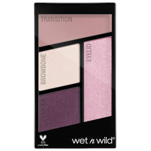 wet n wild coloricon Eyeshadow Quads - Petalette 4.5g