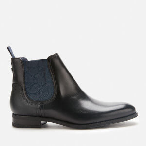 Ted Baker Men's Tradd Leather Chelsea Boots - Black