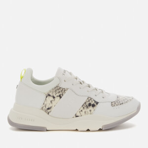 Ted Baker Women's Weverds Running Style Trainers - White