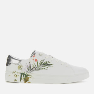 Ted Baker Women's Penil Leather Low Top Trainers - White