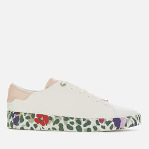 Ted Baker Women's Weni Leather Low Top Trainers - White