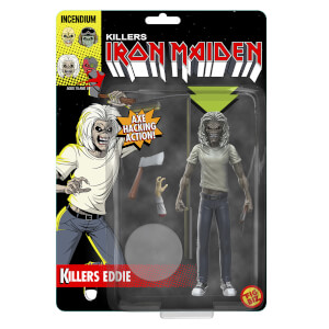 Iron Maiden Killers Eddie Fig Biz Action Figure
