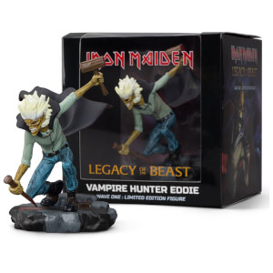 Iron Maiden Legacy of the Beast - Vampire Hunter Eddie Figure