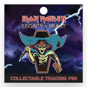 Iron Maiden Legacy of the Beast Lapel Pin - Vampire Hunter Eddie