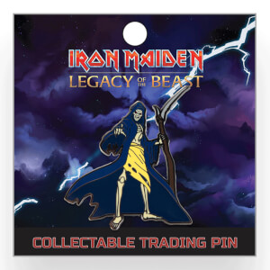 Iron Maiden Legacy of the Beast Lapel Pin - Grim Reaper Eddie