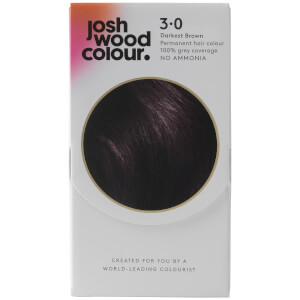 Josh Wood Colour 3 Darkest Brown Colour Kit