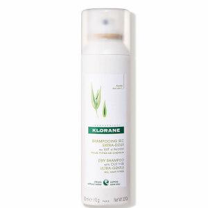 KLORANE Champú seco diario con leche de avena para todo tipo de cabellos 150ml