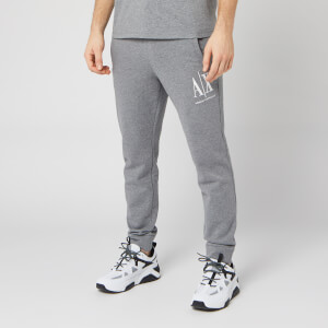 Armani Exchange Men's Logo Jogging Pants - Grey