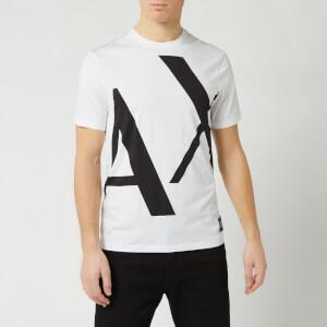 Armani Exchange Men's Large Logo T-Shirt - White
