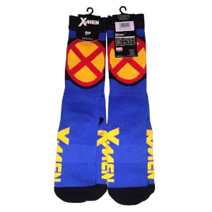 Marvel X-Men Crew Socks - Blue