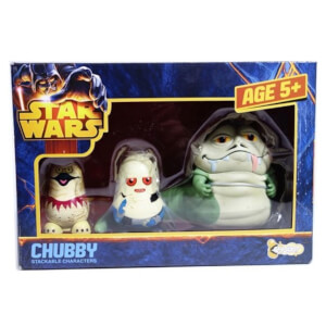Star Wars Chubbies Jabbas Palace Figures (Stackable Characters)