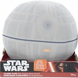 "Star Wars Deluxe Plush - 12"" Talking Light Up Death Star"