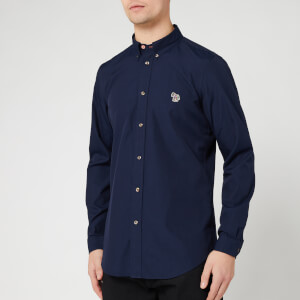 PS Paul Smith Men's Long Sleeve Tailored Bd Shirt - Navy