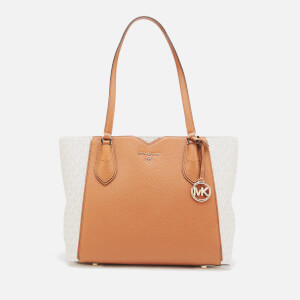 MICHAEL MICHAEL KORS Women's Mae Medium Tote Bag - Vanilla/Acrn