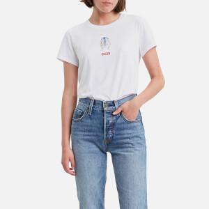 Levi's X Star Wars Women's The Perfect Short Sleeve T-Shirt - White
