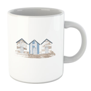 Wooden Beach Hut Mug