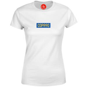 COPA90 Everyday - White/Blue/Yellow Women's T-Shirt