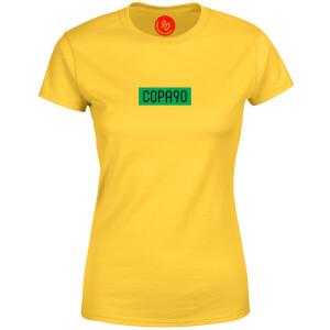 COPA90 Everyday - Yellow/Green/Black Women's T-Shirt
