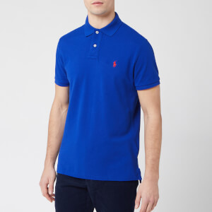 Polo Ralph Lauren Men's Custom Slim Fit Polo Shirt - Heritage Royal