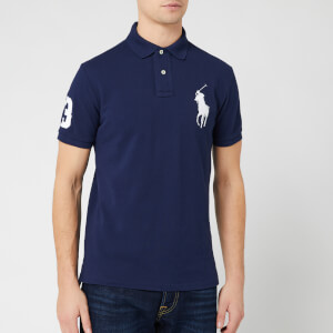 Polo Ralph Lauren Men's Large Logo Polo Shirt - Newport Navy