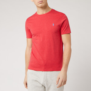 Polo Ralph Lauren Men's Short Sleeve Crew Neck T-Shirt - Rosette Heather