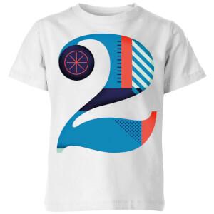 2 Kids' T-Shirt - White