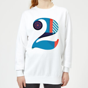 2 Women's Sweatshirt - White