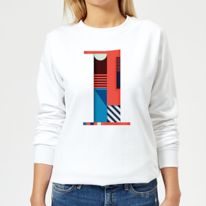 1 Women's Sweatshirt - White
