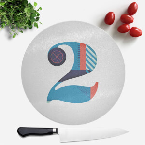 2 Round Chopping Board