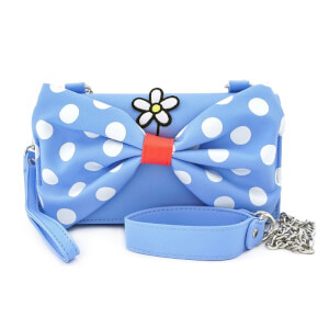 Loungefly Positively Minnie Polka Dot Crossbody Wristlet
