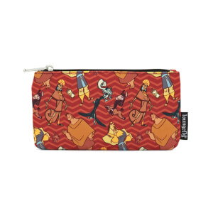 Loungefly Disney Emperor's New Groove Aop Nylon Pouch