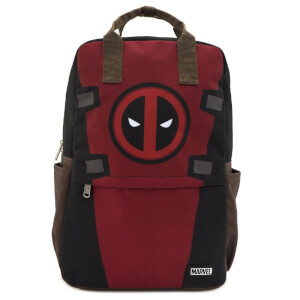 Loungefly Marvel Deadpool Cosplay Square Nylon Backpack