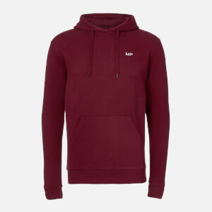 Sudadera con Capucha Essentials - Oxblood